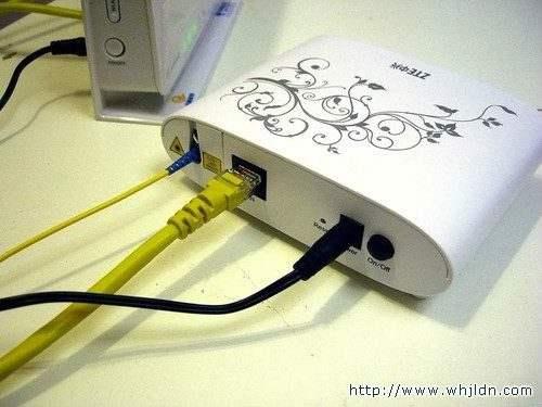 光纤猫接无线路由器的设置安装